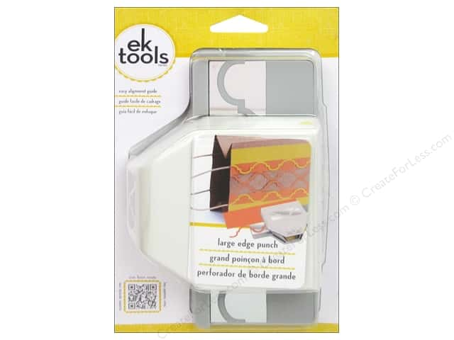 EK Paper Shapers Large Edger Punch Round Arch Pattern