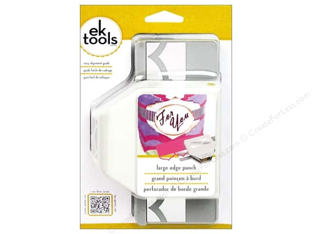 EK Paper Shapers Large Edger Punch Point Arch Pattern