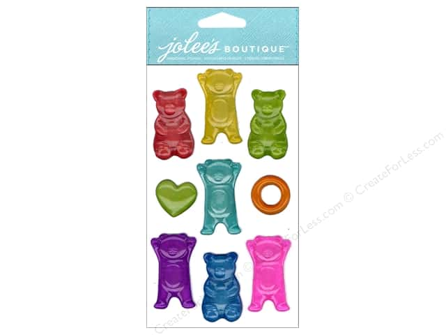 Jolee's Boutique Stickers Bright Bear