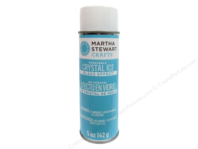 Martha Stewart Effect by Plaid Glass Crystal Ice Spray 5oz