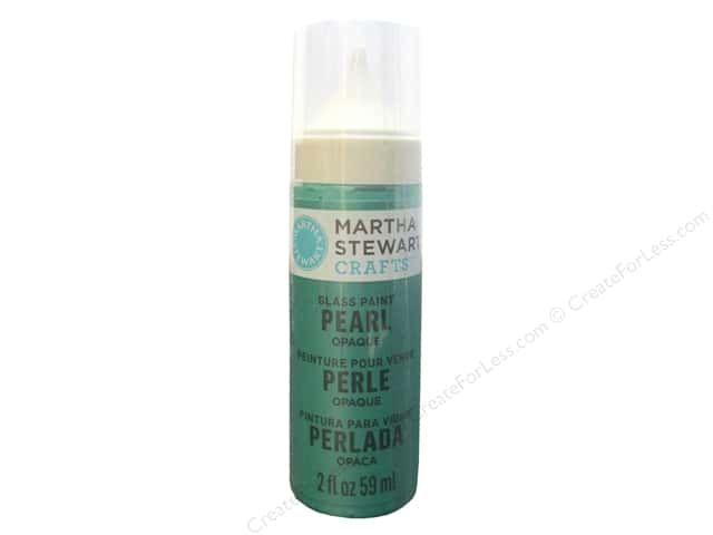 Martha Stewart Glass Paint by Plaid 2 oz. Pearl Opaque Hummingbird