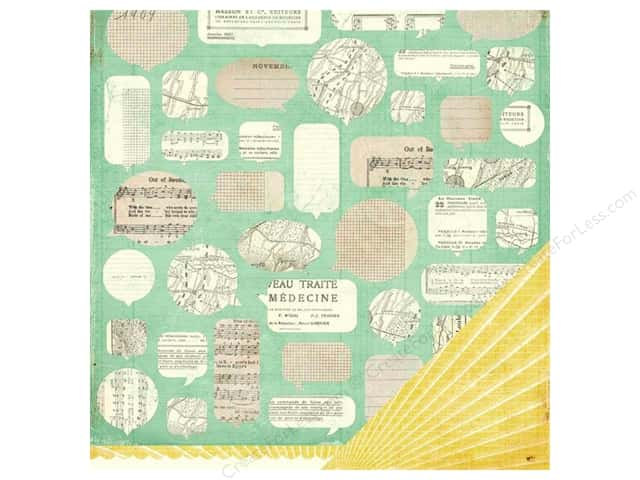 Crate Paper 12 x 12 in. Paper DIY Shop Paper Clippings (25 sheets)