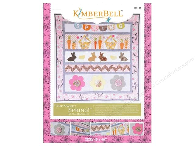 Kimberbell Designs One Sweet Spring Wall Hanging Pattern