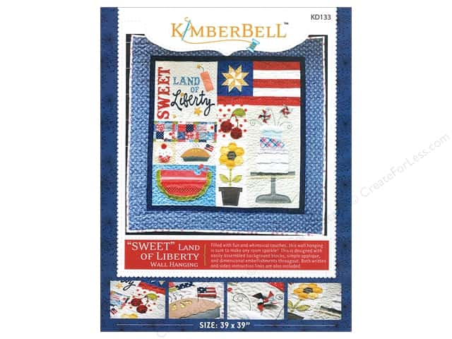 Kimberbell Designs Sweet Land Of Liberty Wall Hanging Pattern