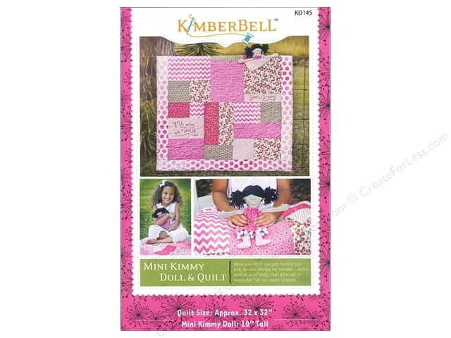 Kimberbell Designs Mini Kimmy Doll & Quilt Pattern