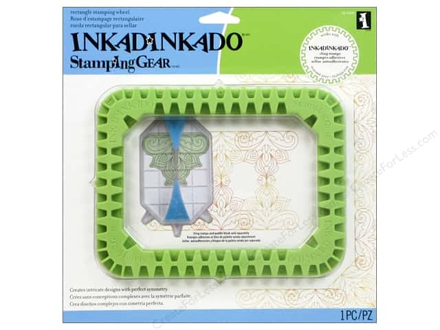 Inkadinkado Stamping Gear Rectangle Wheel