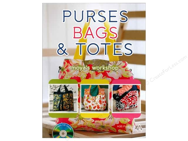 American Quilter's Society Purses, Bags & Totes Book by Moya's Workshop
