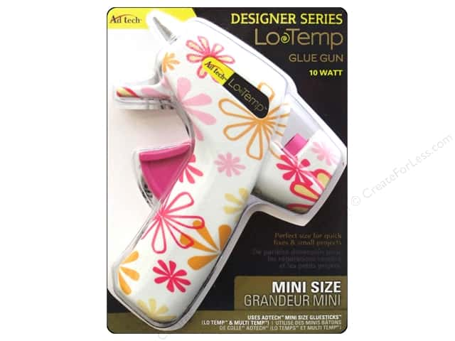 Adhesive Technology Low Temp Glue Gun Mini Daisy White