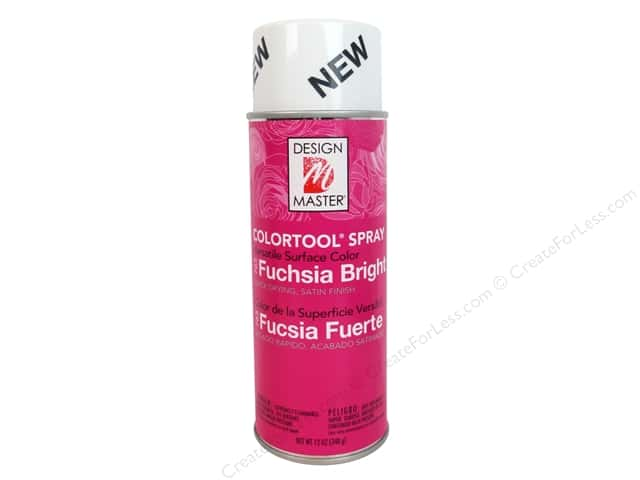 Design Master Colortool Spray Paint #765 Bright Fuchsia 12 oz.