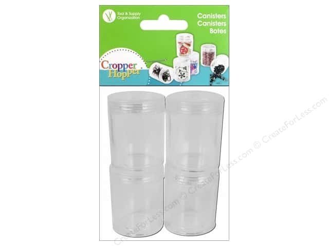Cropper Hopper Supply Storage Canister Pack