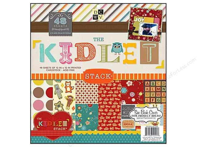 Die Cuts With A View 12 x 12 in. Paper Stack Kidlet