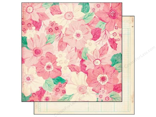 Crate Paper 12 x 12 in. Paper Maggie Holmes Emily Jane (25 pieces)