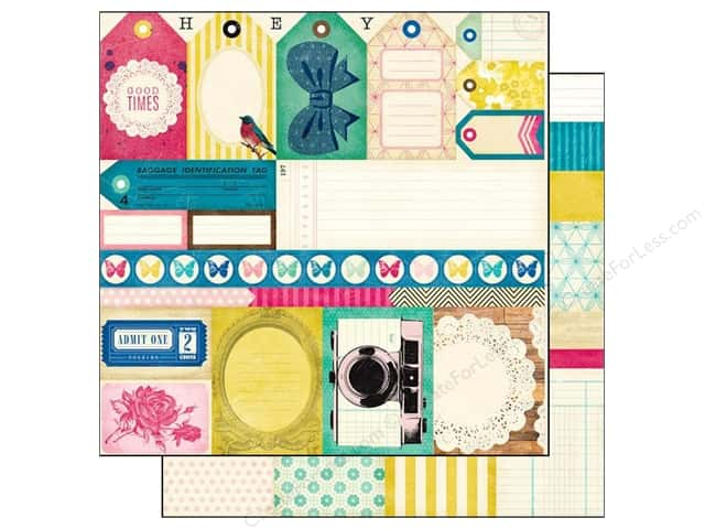 Crate Paper 12 x 12 in. Paper Maggie Holmes Cut Outs (25 pieces)