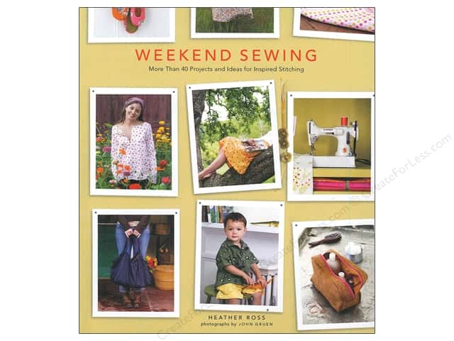 Stewart Tabori & Chang Weekend Sewing Book by Heather Ross