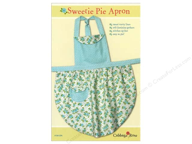 Cabbage Rose Sweetie Pie Apron Pattern