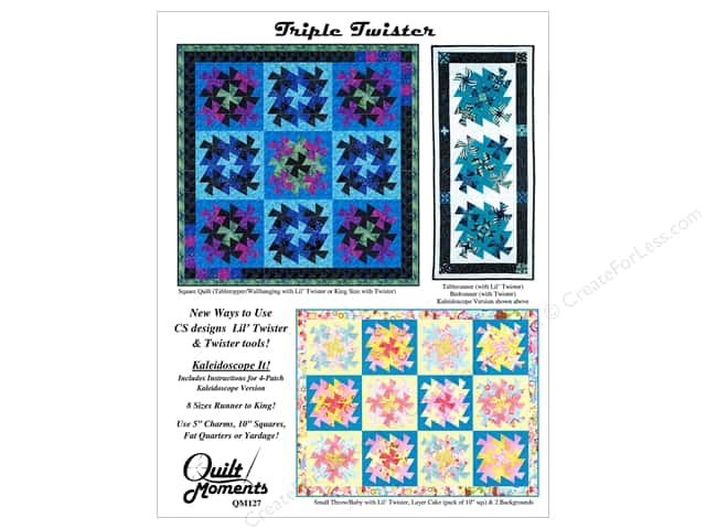 Quilt Moments Triple Twister Pattern