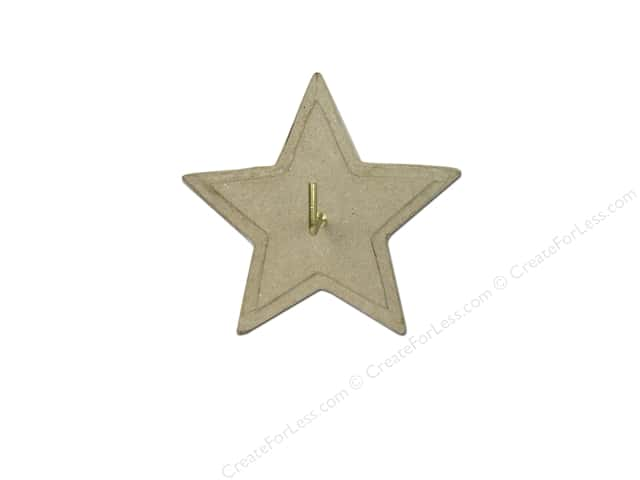 Paper Mache Wall Hanger Star by Craft Pedlers