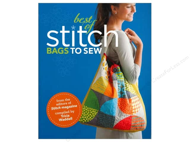 Interweave Press The Best of Stitch: Bags to Sew Book
