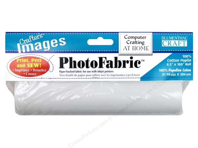 Blumenthal Crafter's Images PhotoFabric Roll Cotton Poplin