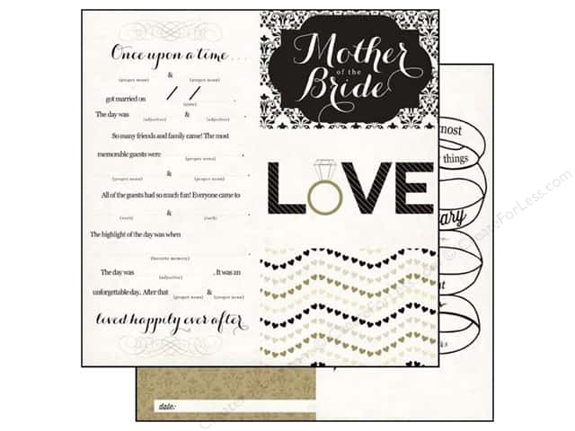 Echo Park 12 x 12 in. Paper You & Me Collection Happily Ever After (15 pieces)