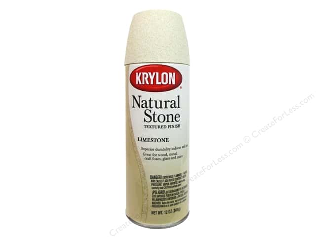 Krylon Natural Stone Paint Limestone 12 oz.