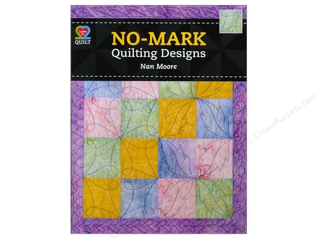 American Quilter's Society No Mark Quilting Designs Book by Nan Moore