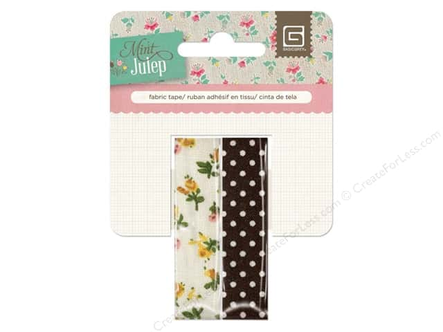 BasicGrey Fabric Tape Mint Julep