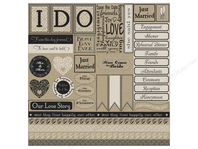 Canvas Corp 12 x 12 in. Paper I Do Sampler On Kraft (15 pieces)