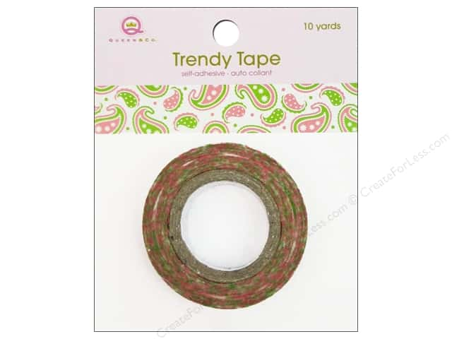 Queen&Co Trendy Tape 10yd Paisley Girls
