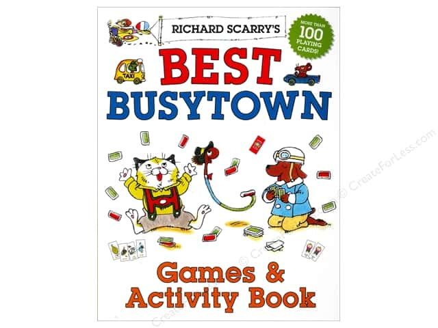 Sterling Richard Scarry's Best Busytown Games & Activity Book
