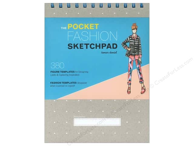 Chronicle The Pocket Fashion Sketchpad by Tamar Daniel