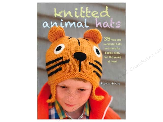 Cico Knitted Animal Hats Book by Fiona Goble