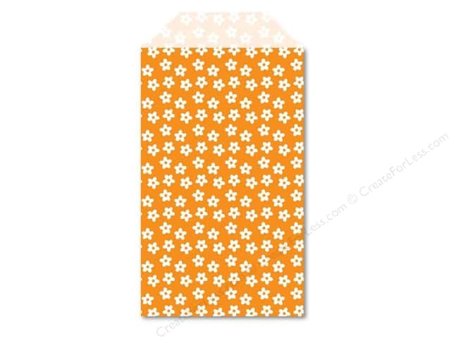 Queen & Co Stylish Sac Floral Orange Crush 25 pc.