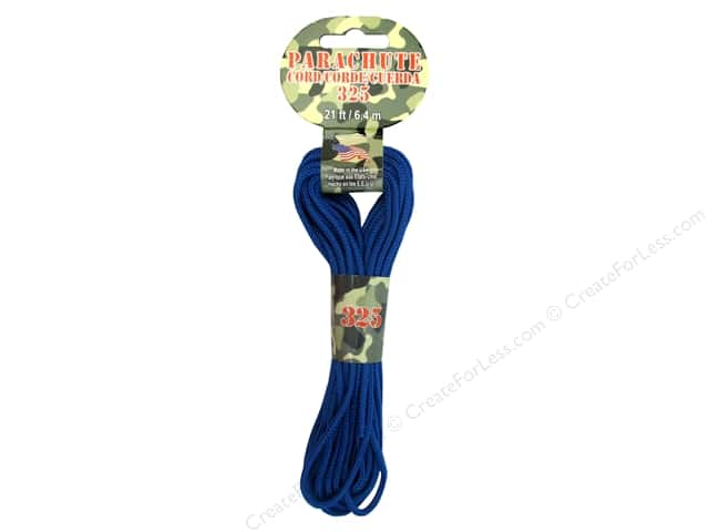 Pepperell 325 Parachute Cord 21 ft. Royal
