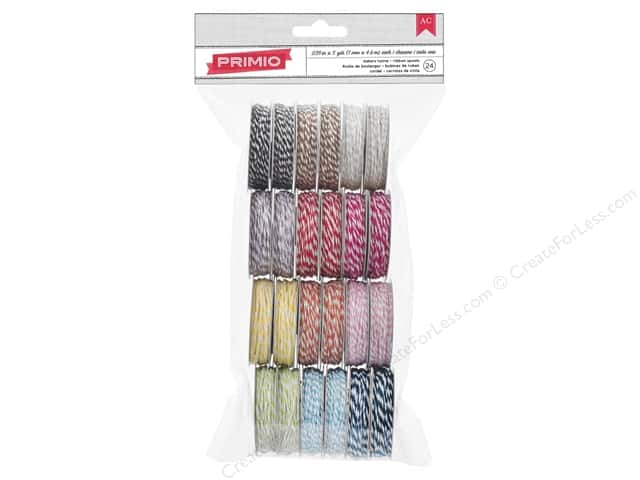 American Crafts Ribbon Value Pack 24 pc. Baker's Twine