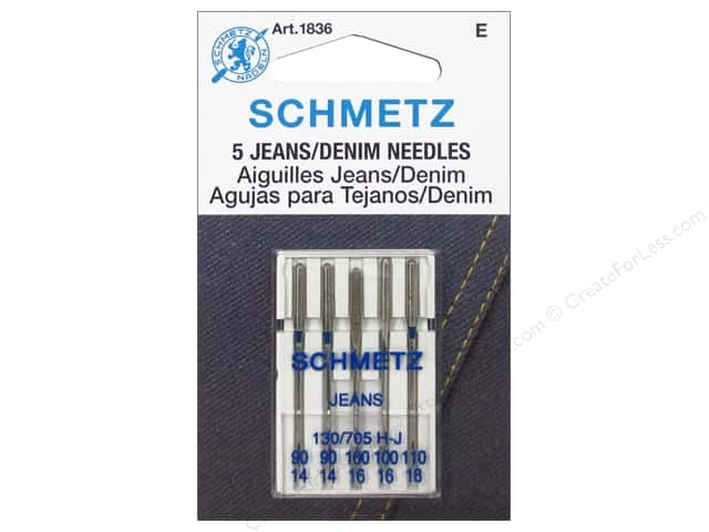 Schmetz Jean Needle Assorted