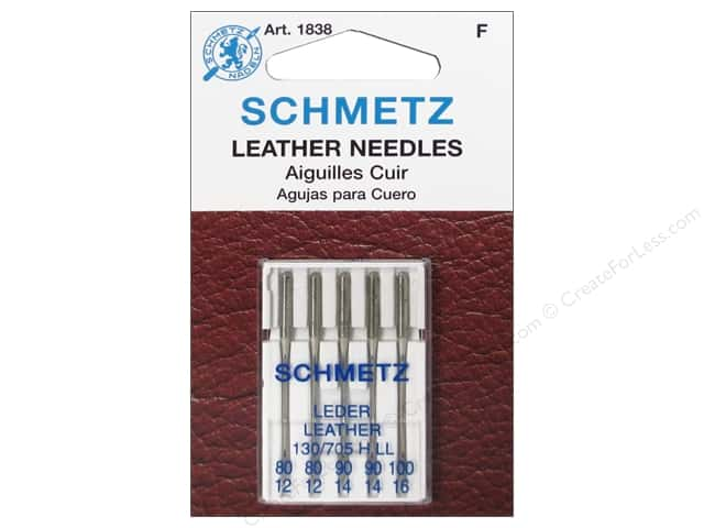 Schmetz Leather Needle Assorted