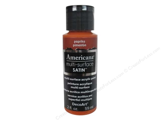 DecoArt Americana Multi-Surface Satin 2 oz. #503 Paprika