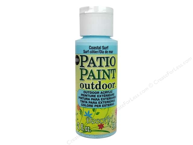 DecoArt Patio Paint 2oz Coastal Surf