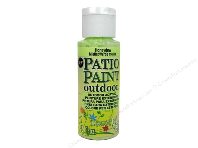 DecoArt Patio Paint 2oz Honeydew