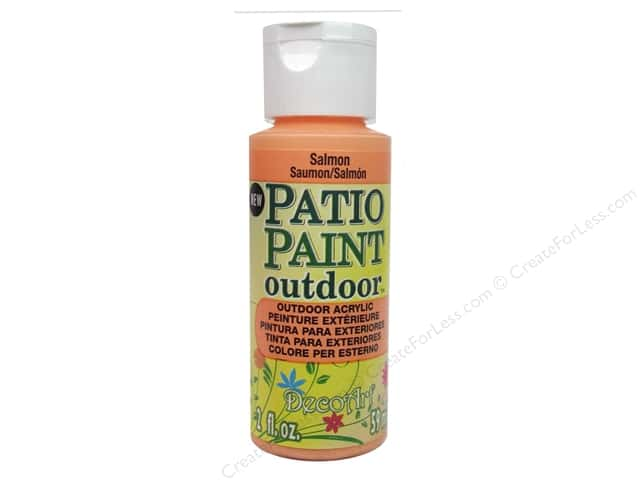DecoArt Patio Paint 2oz Salmon
