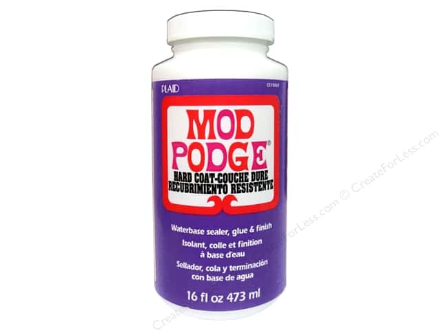 Plaid Mod Podge Hard Coat 16oz
