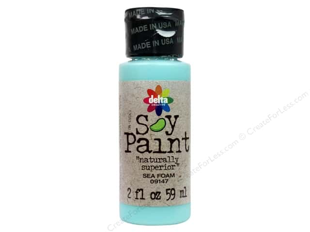 Delta Soy Paint 2oz Sea Foam