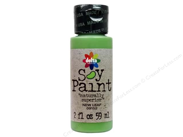 Delta Soy Paint 2oz New Leaf