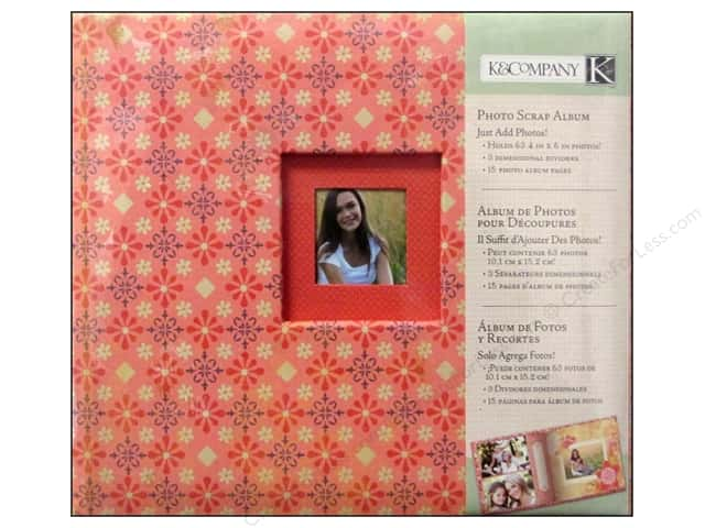 K & Company Photo Scrap Album Handmade