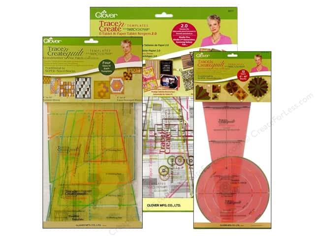 Clover Trace 'n Create Templates with Nancy Zieman