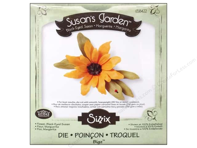 Sizzix Bigz Die Flower Black Eyed Susan by Susan Tierney-Cockburn