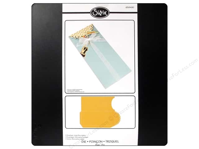 Sizzix Bigz Pro Die Envelope Long Decorative by Jen Long