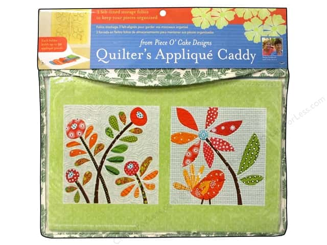 C&T Publishing Quilters Applique Caddy