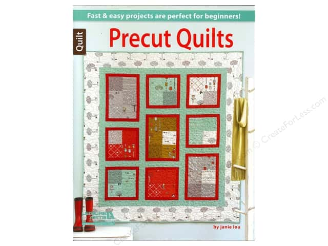 Leisure Arts Precut Quilts by Janie Vogl, Jenny Clinard and Janie Lou